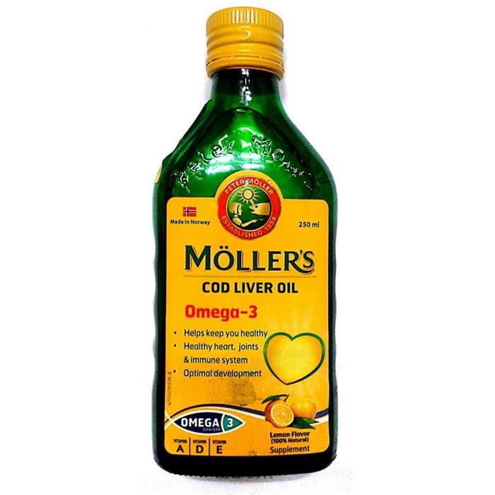محلول کد لیور اویل (روغن کبد ماهی) مولرز