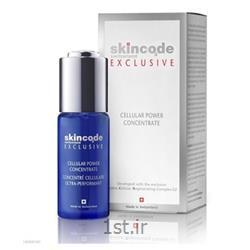 عکس سایر محصولات مراقبت از پوستکنسانتره سلول ساز تقویتی اسکین کد
