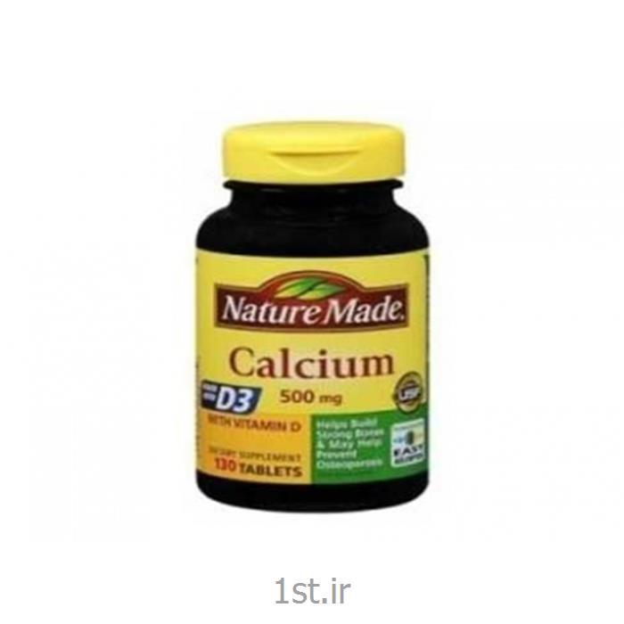 قرص کلسیم ویتامین D نیچر مید