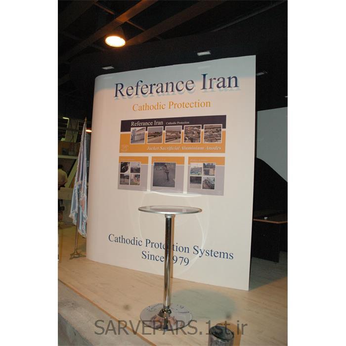عکس طراحی و اجرای غرفهغرفه رفرانس ایران