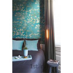 عکس کاغذ دیواری و دیوار پوشکاغذ دیواری مدرن گلدار برجسته van gogh