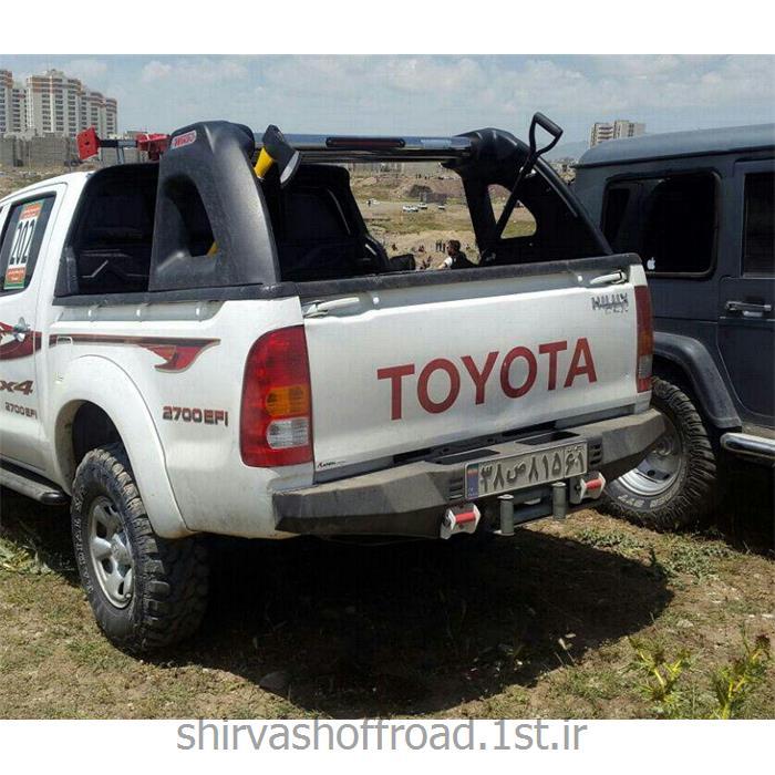 عکس سپر خودروسپر عقب آفرود تویوتا هایلوکس ویگو