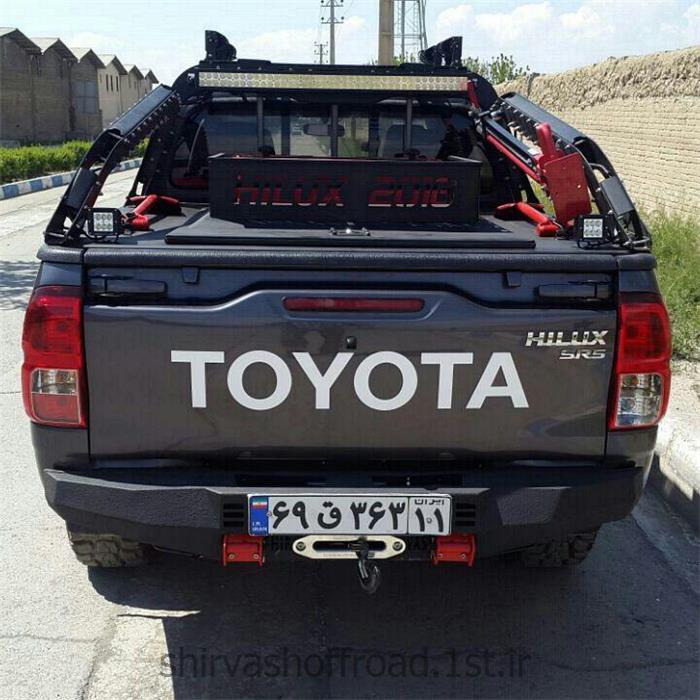 عکس سپر خودروسپر عقب آفرود تویوتا هایلوکس 2016