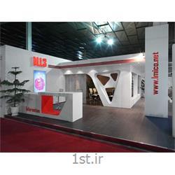 عکس طراحی و اجرای غرفهغرفه نمایشگاهی M.I.3