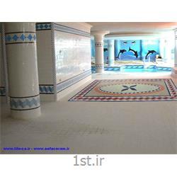 عکس کاشیکاشی وسرامیک استخری سایزهای 2/5*2/5 ودر رنگهای آبی و سفید و سرمه ای