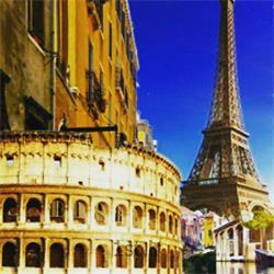 تور اروپا (پاریس ، رم ، ونیز ) ویژه تابستان