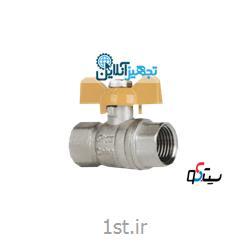 شیر غیر گازی دسته کلید برنجی سایز ۱/۲ اینچ سیتکو