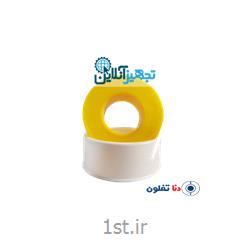 عکس سایر مواد عایق بندی آبنوار تفلون زرد پهن دنا(سنگین)