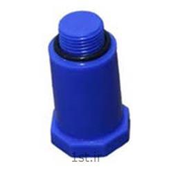 درپوش پایه بلند پلاستیکی آبی و قرمز