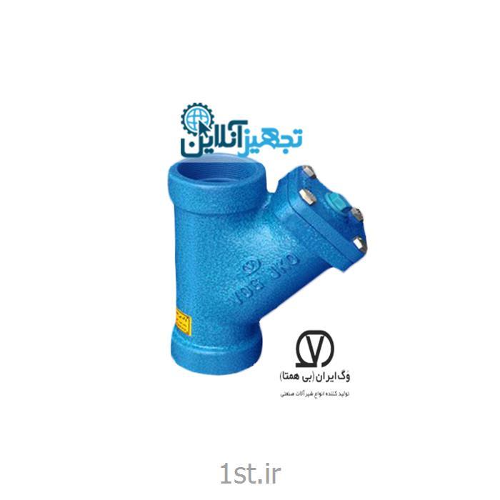 شیر صافی دنده ای چدنی PN۱۶ سایز ۱/۲ اینچ وگ ایران بی همتا 0