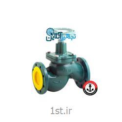 شیر فلکه چدنی ۱۸۰ درجه سوزنی بخار سایز ۲۱/۲ اینچ وگ امید گلستان