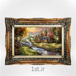 تابلو فرش طرح طبیعت کد ۱۳۲