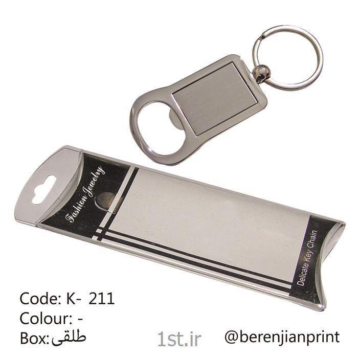 عکس جاسوییچی (جاسوئیچی) و جاکلیدیجاکلیدی فلزی به همراه جعبه طلقی تبلیغاتی مدل K-211