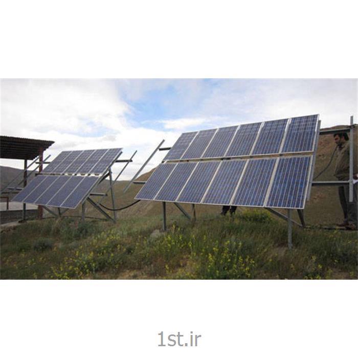 برق رسانی به مناطق محروم از شبکه برق (خورشیدی)