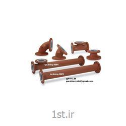 پوشش لاینینگ کلیه قطعات HDPE PTFE
