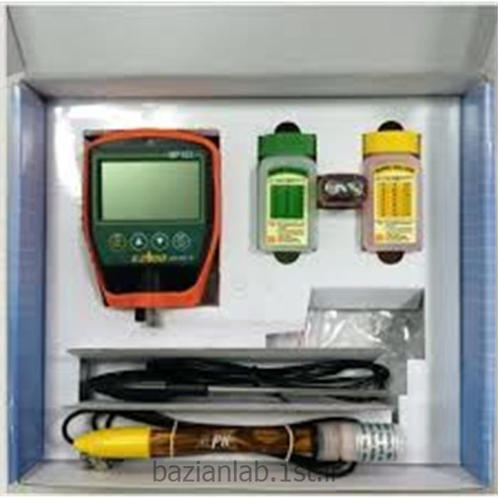 عکس پی اچ متر ( PH Meter )دستگاه  pH متر پرتابل دیواری ezdo مدل MP- 103