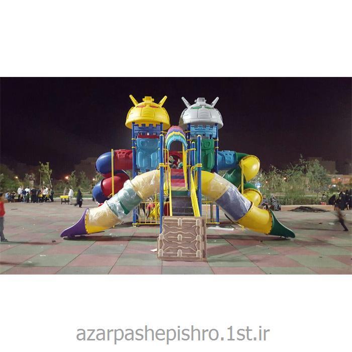 مجموعه لوازم بازی پلی اتیلنی کودکان مخصوص پارک ها و فضای باز