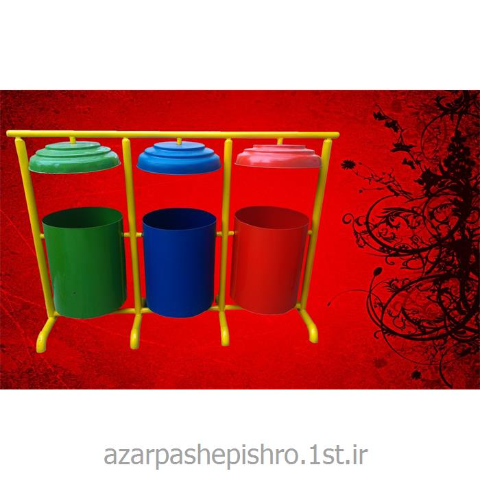 مخزن فلزی تفکیک و بازیافت انواع زباله و آشغال