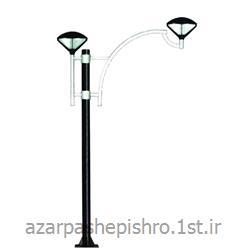 پایه چراغ روشنایی پارکی ، خیابانی فلزی 1 تا 9 متر
