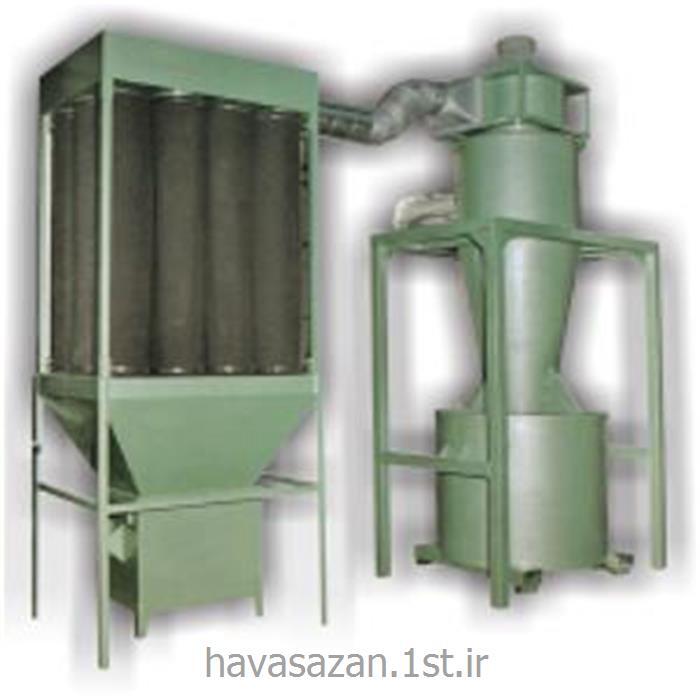 عکس دستگاه تهویه مطبوع صنعتیهواکش صنعتی غبارگیر