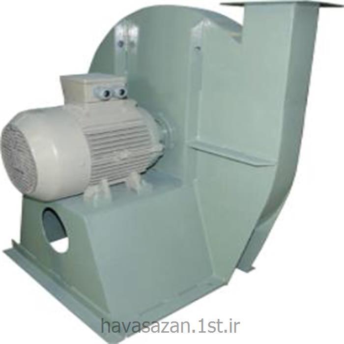 عکس دستگاه تهویه مطبوع صنعتیهواکش صنعتی فشار بالا بدون روبنده