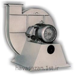 عکس دستگاه تهویه مطبوع صنعتیهواکش صنعتی فشار بالا با روبنده
