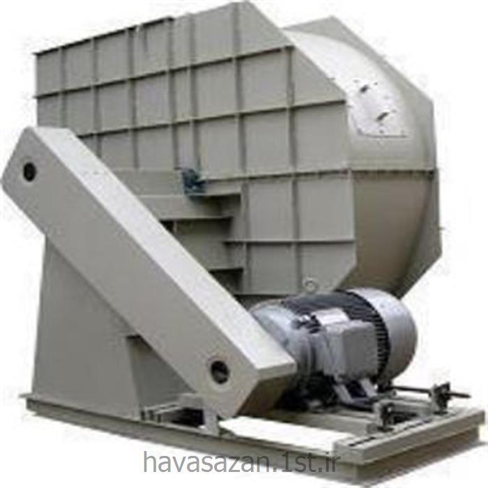 عکس دستگاه تهویه مطبوع صنعتیهواکش صنعتی سانتریفیوژ ویژه حرارت بالا