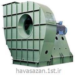 عکس دستگاه تهویه مطبوع صنعتیهواکش صنعتی نیمه فشار با قدرت بالا