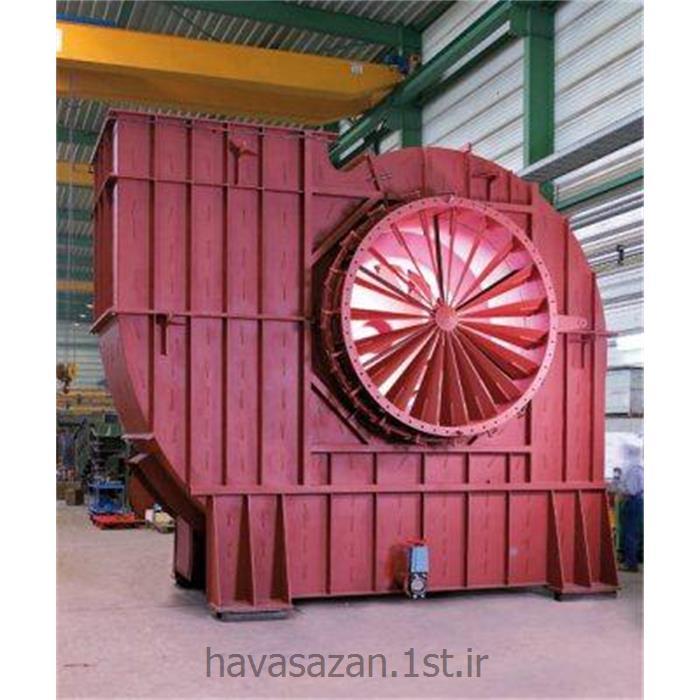 عکس دستگاه تهویه مطبوع صنعتیهواکش صنعتی چمپیون با فشار متوسط