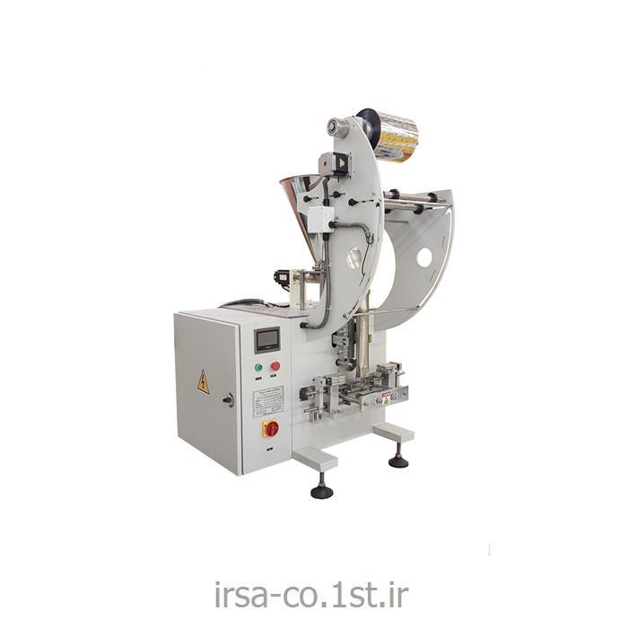 عکس ماشین آلات بسته بندیدستگاه بسته بندی ساشه تمام استیل نمک وسماق تک نفره همگامان صنعت ایرسا HM-104G