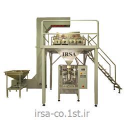 عکس ماشین آلات بسته بندیدستگاه بسته بندی سبزیجات و میوه جات خشک چهار توزین مدل HM-404P همگامان صنعت ایرسا