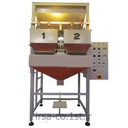 عکس ماشین آلات بسته بندیدستگاه نیمه اتوماتیک کیسه پرکنHM-1002M همگامان صنعت ایرسا
