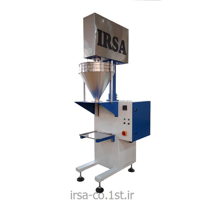عکس ماشین آلات بسته بندیدستگاه نیمه اتوماتیک کیسه پرکن پودری HM-1001 همگامان صنعت ایرسا