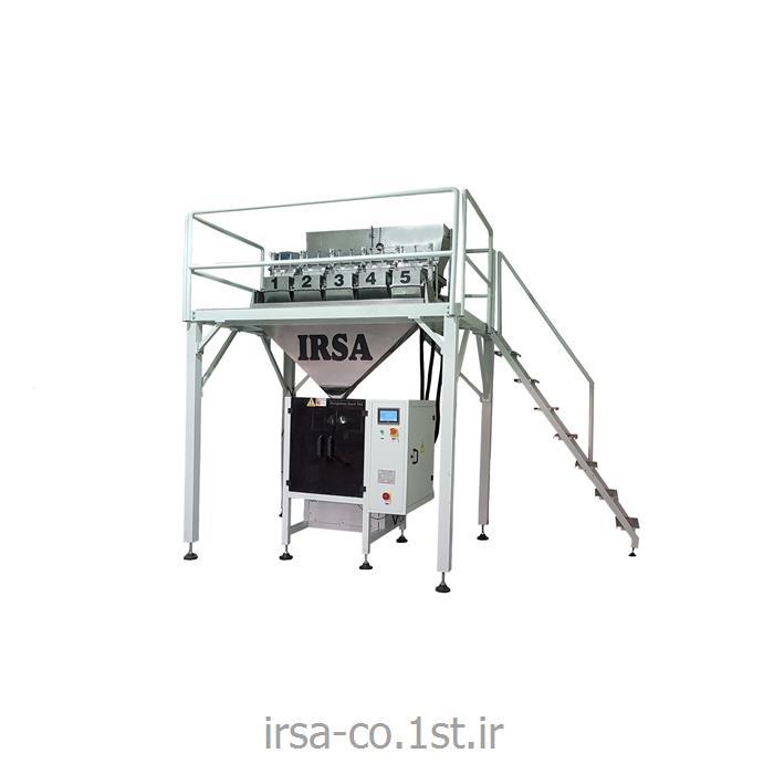 عکس ماشین آلات بسته بندیدستگاه بسته بندی پنج توزین مدل HM-505 همگامان صنعت ایرسا