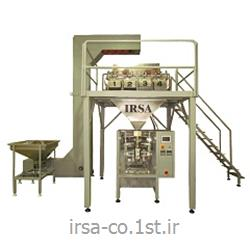 عکس ماشین آلات بسته بندیدستگاه بسته بندی قند و شکر چهار توزین مدل HM-404P همگامان صنعت ایرسا