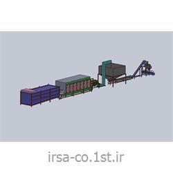 خط کامل تفت ، شورکن ، طعم زن و برشته کن خشکبار و آجیل HM-600 همگامان صنعت ایرسا