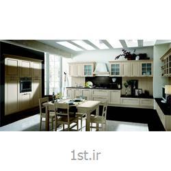 عکس کابینت آشپزخانهکابینت کلاسیک آشپزخانه مدل آناستازیا
