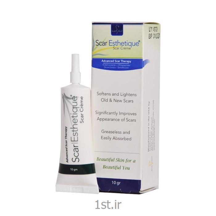 کرم  10 گرمی اسکار استاتیک Scar Esthetique  درمان اسکار، جای بخیه و ..
