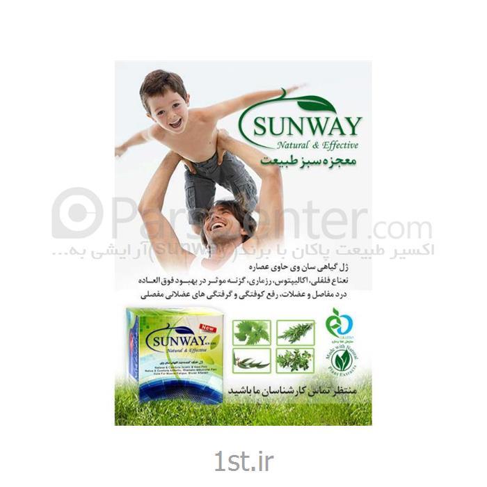 عکس کرم و ژل ماساژژل گیاهی ضد درد مفاصل سان وی (sunway)