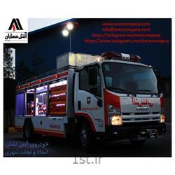 عکس سایر تجهیزات آتش نشانیخودرو ایسوزو دو منظوره آتش نشانی و امداد و نجات watermist