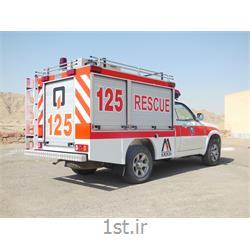 خودرو کاپرا تک کابین پیکاپ امداد و نجات