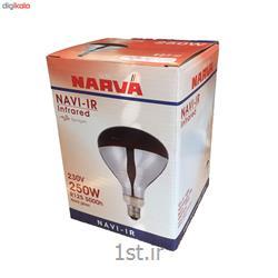 عکس سایر چراغ ها و محصولات مرتبط با روشناییلامپ مادون قرمز 250 وات ناروا مدل NAVI پایه E27