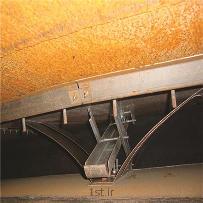 آب بند اولیه مخازن سقف شناور از نوع کفشک با ورقهای فنری دوبل