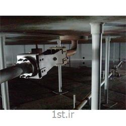 سیستم تخلیه آب باران از مخازن سقف شناور از نوع مفصل لولایی