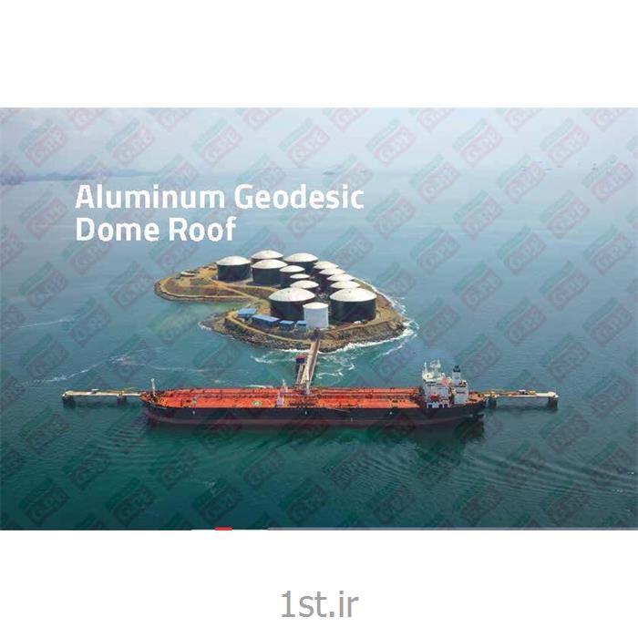 عکس سایر محصولات مرتبط با انرژیسقف ثابت آلومینیومی مخازن ذخیره