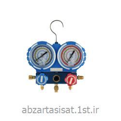 عکس نمایشگر فشار (مانیتور فشار)گیج نمایشگر فشار دو قلو ولیو