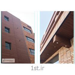 عکس سایر چوب های ساختمانیچوب کف و نمای ترمووود (Termowood)