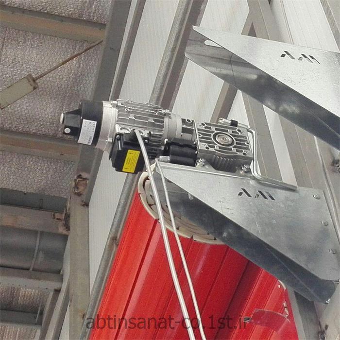 کرکره صنعتی با موتور سه فاز