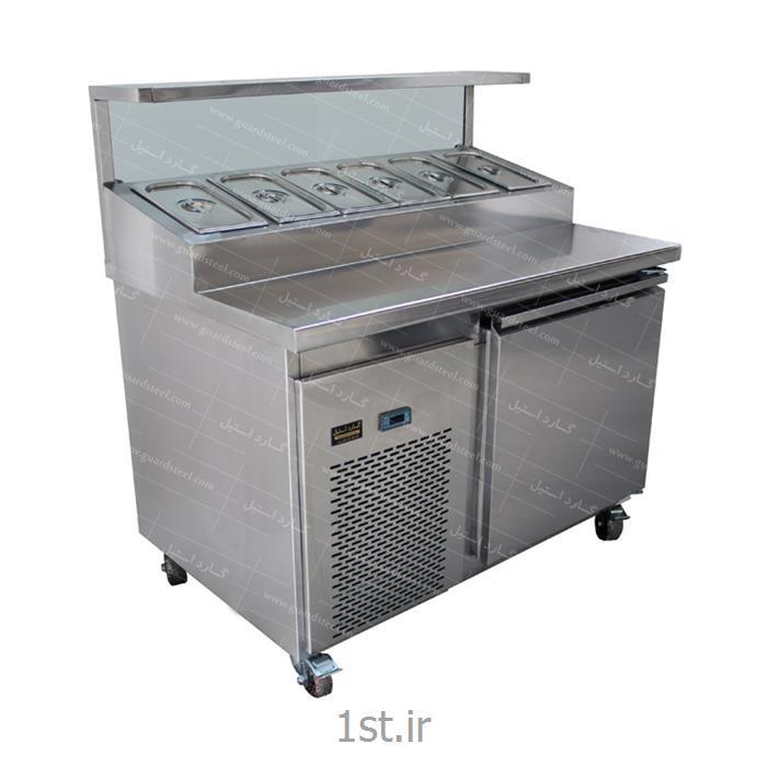 عکس سایر ماشین آلات تولید مواد غذاییتاپینگ پیتزا و ساندویچ ( 6 لگن ) - گارد استیل
