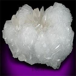 عکس سولفات باریم طبیعی ( باریت )باریت سفید ضد اسید 2500 مش